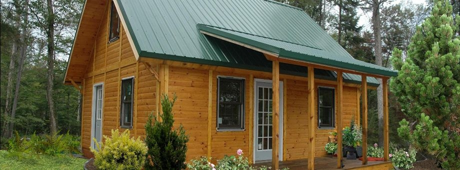 panel concepts the small cottage company made in mio Cabin Kits Michigan