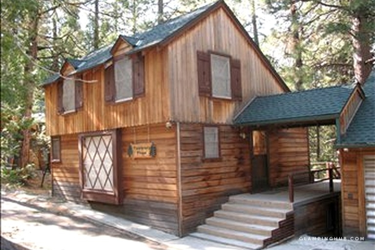 peaceful woodland cabin retreat in the scenic fern valley of california Fern Valley Cabins