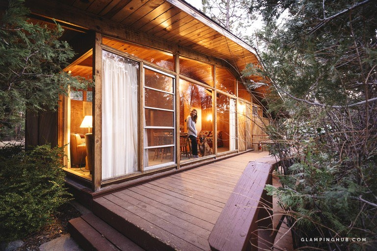 pet friendly duplex cabin overlooking fern valley for luxury camping stay in idyllwild california Fern Valley Cabins