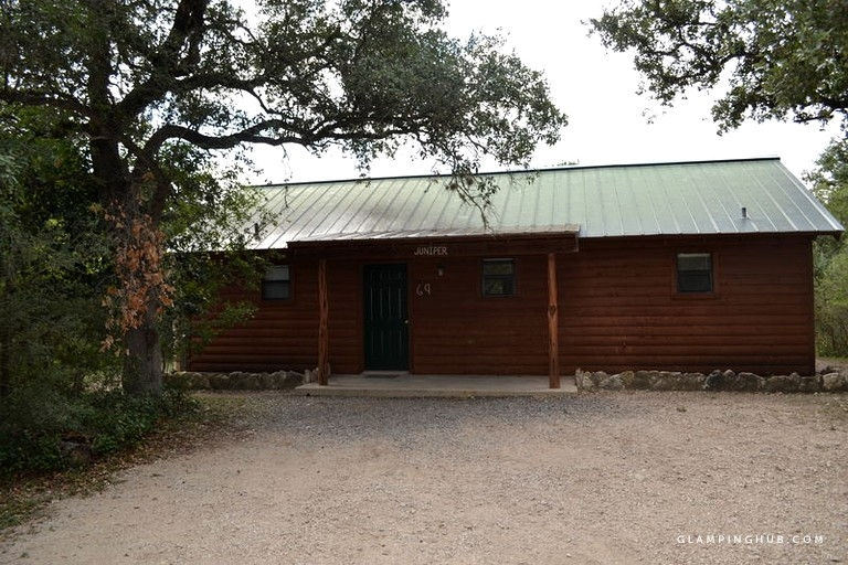 pet friendly rental cabin on riverfront family resort in texas hill country Pet Friendly Cabins In Texas