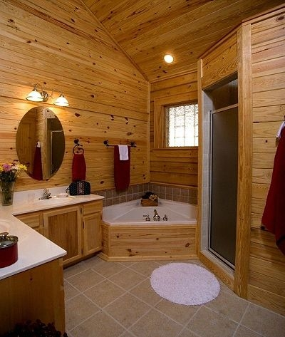 pictures of log home bathrooms home ideas log home Log Cabin Bathroom Ideas