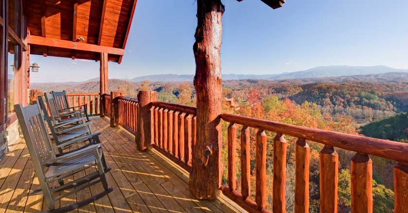 pigeon forge cabin rentals with mountain views pigeonforge Cabins With A View