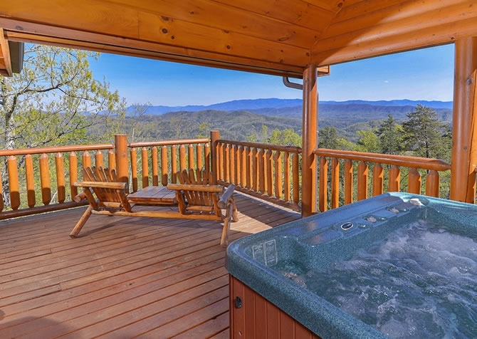 pigeon forge cabins autumn moon Cabins For You.Com