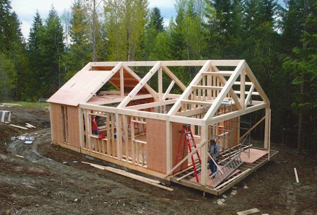 pin james c on tiny house jim in 2019 timber frame Small Post And Beam Cabins
