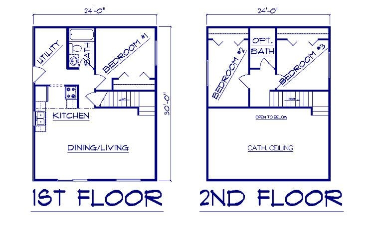 pin on new house ideas 24 X 30 Cabin Plans With Loft
