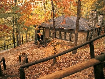 pin on places to go to Kentucky State Park Cabins