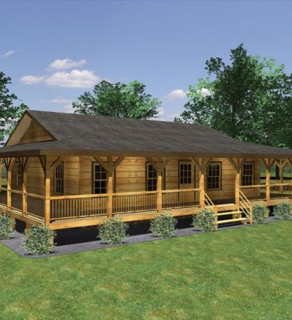 pin on porches Log Cabin Plans With Wrap Around Porch