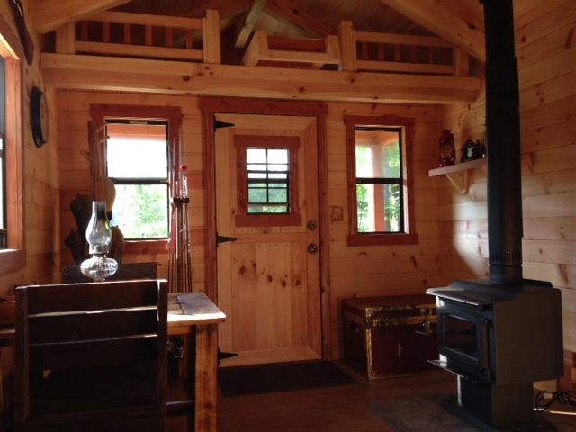 pin on treehouse 10 X 20 Cabin With Loft