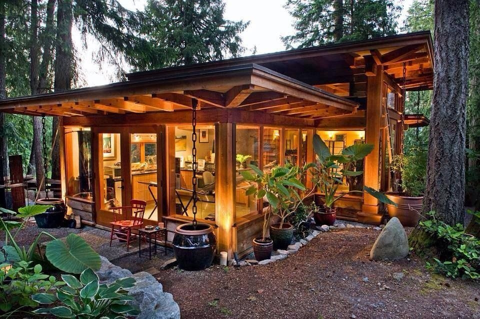 post beam studio tiny house design modern tiny house Small Post And Beam Cabins