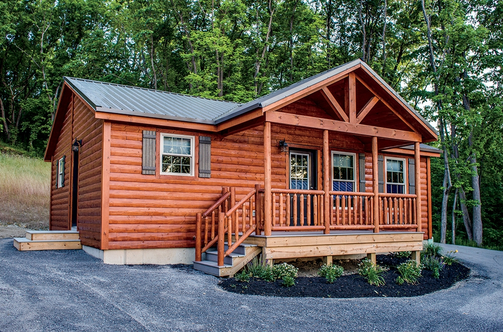 Permalink to Minimalist Cabin Style Manufactured Homes