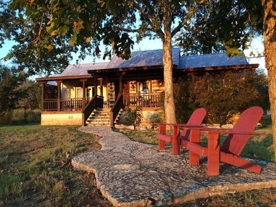 private luxury and incredible views just 5 minutes from downtown frederickbsurg fredericksburg Fredericksburg Tx Cabins