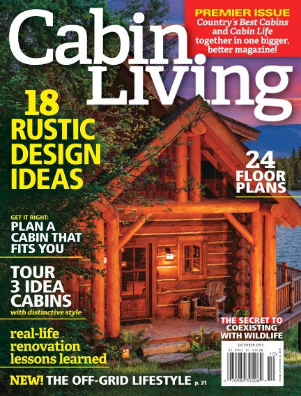 read cabin living magazine on readly the ultimate magazine Cabin Living Magazine