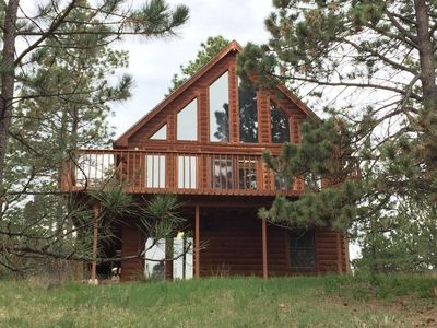 relax and unwind in this secluded black hills cabin minutes from mt rushmore hermosa Black Hills Cabin