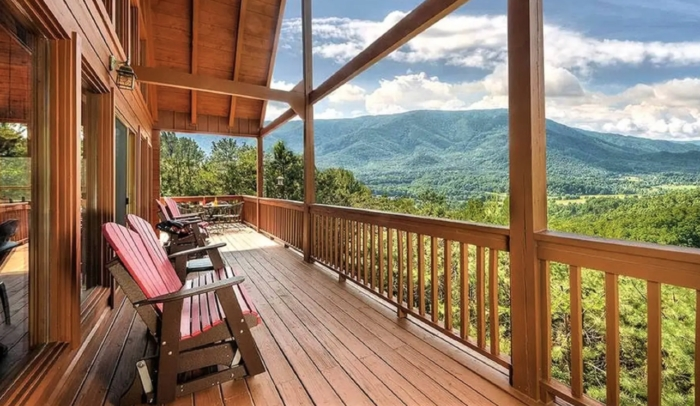 rent a cabin with a view for the best smoky mountains Cabins With A View