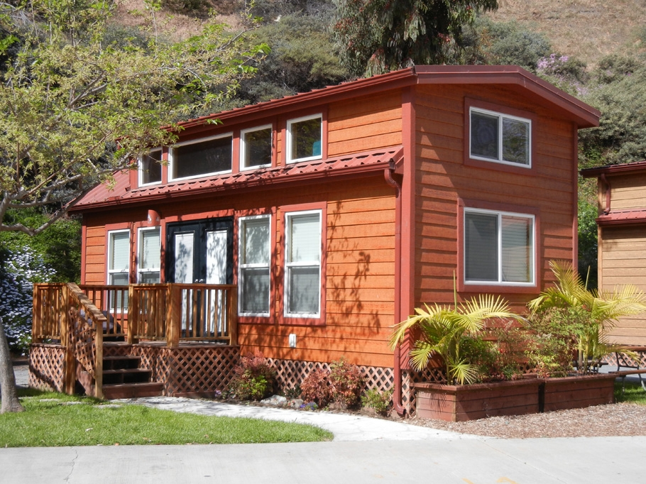 rental cabins in san diego cavco park models San Diego Camping Cabins