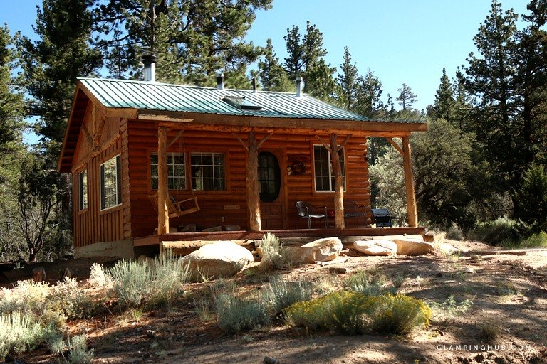 romantic log cabin in the san bernardino national forest of california National Forest Cabins