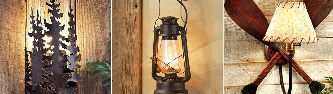 rustic wall sconces for 2019 lodge lighting cabin sconces Rustic Cabin Lighting