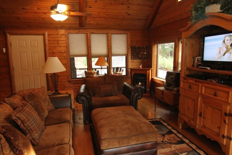 secret cove cabin oklahoma vacation cabin rental near Turner Falls Park Cabins