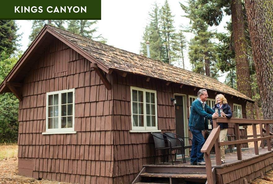 sequoia kings canyon national parks in park lodging Sequoia National Forest Cabins