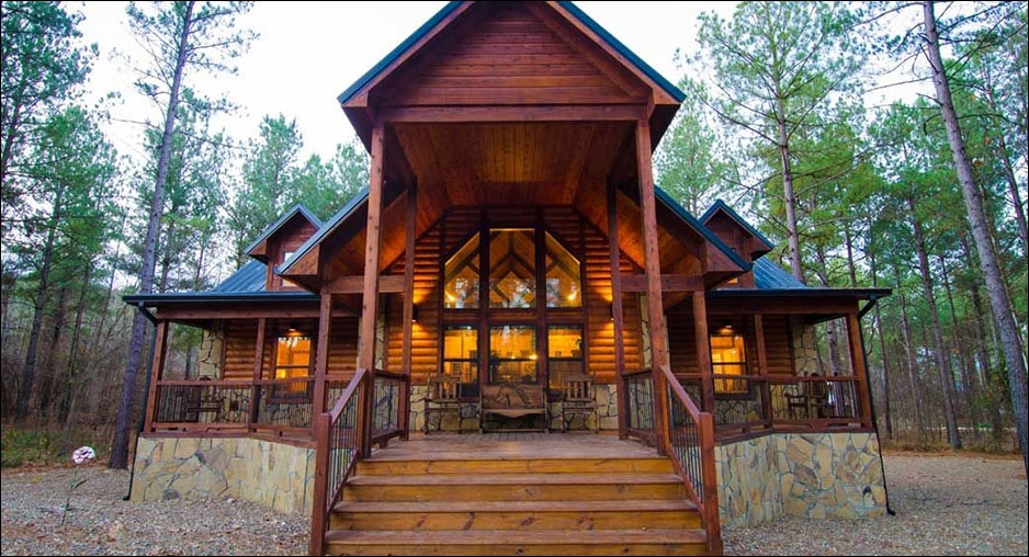 serenity point lodge cabin rentals beavers bend lodging Cabin In Broken Bow