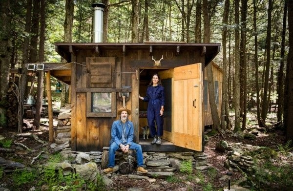 simple living in a tiny cabin in the woods cabin in the Living In A Cabin