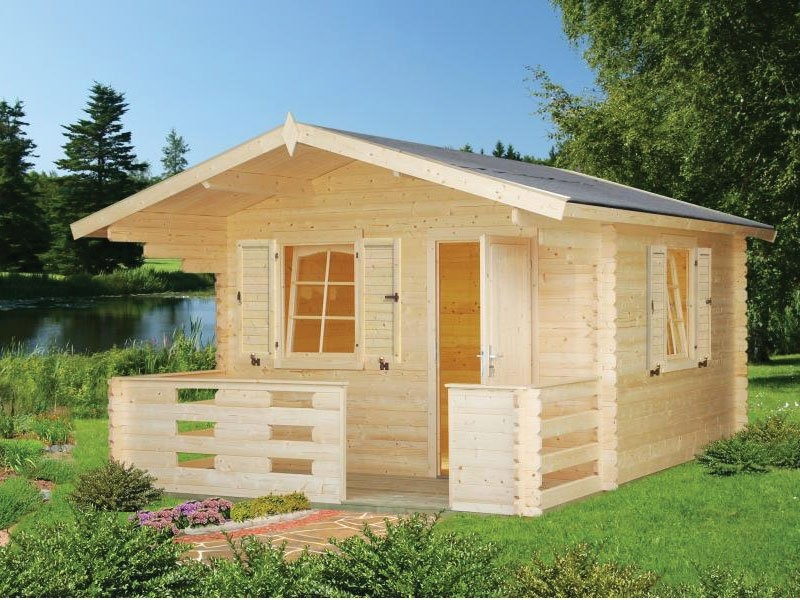 small backyard cabin kit cascade Small Cabin Kit