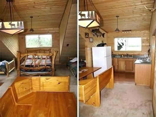 small cabin decorating ideas and design plans trophy cabins Small Cabin Decorating Ideas