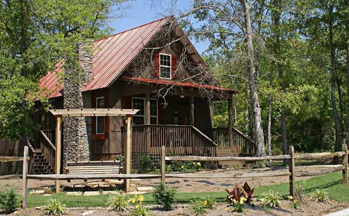 small cabin plan with loft small cabin house plans Small Cabin House Plans