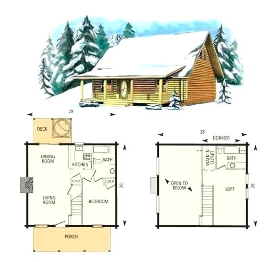 small cabin with loft floor plans hybridmediasl Floor Plans For Small Cabins