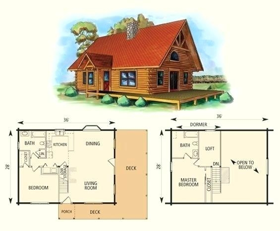 small cabin with loft floor plans hybridmediasl Small Cabin With Loft Floor Plans