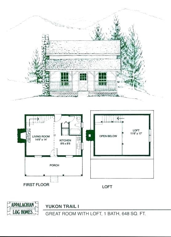 small cabin with loft floor plans hybridmediasl Small Cabins With Loft Floor Plans