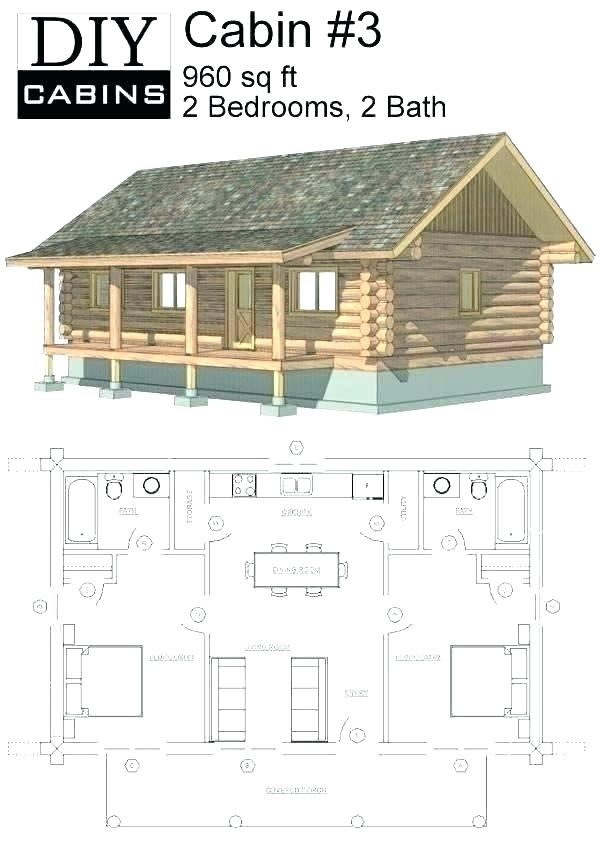 small hunting cabin floor plans free Hunting Cabin Floor Plans