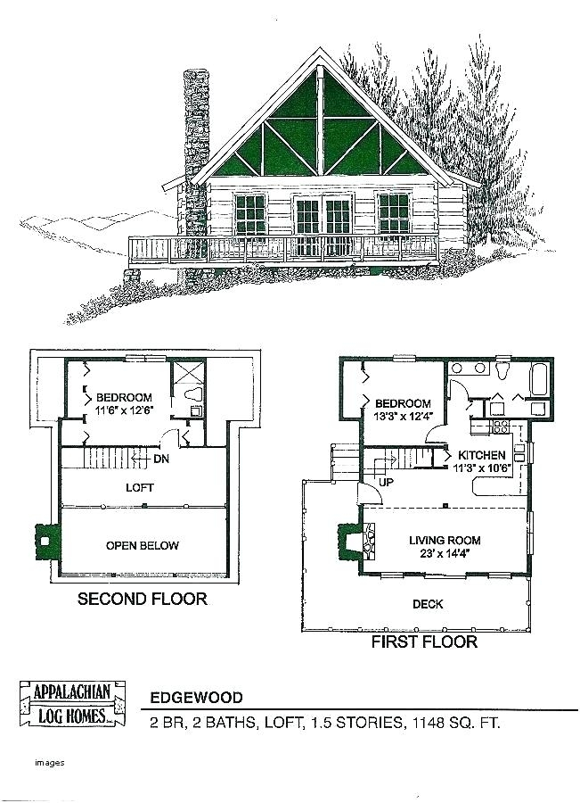 small two bedroom cabin plans athayaideasco Small Two Story Cabin Plans