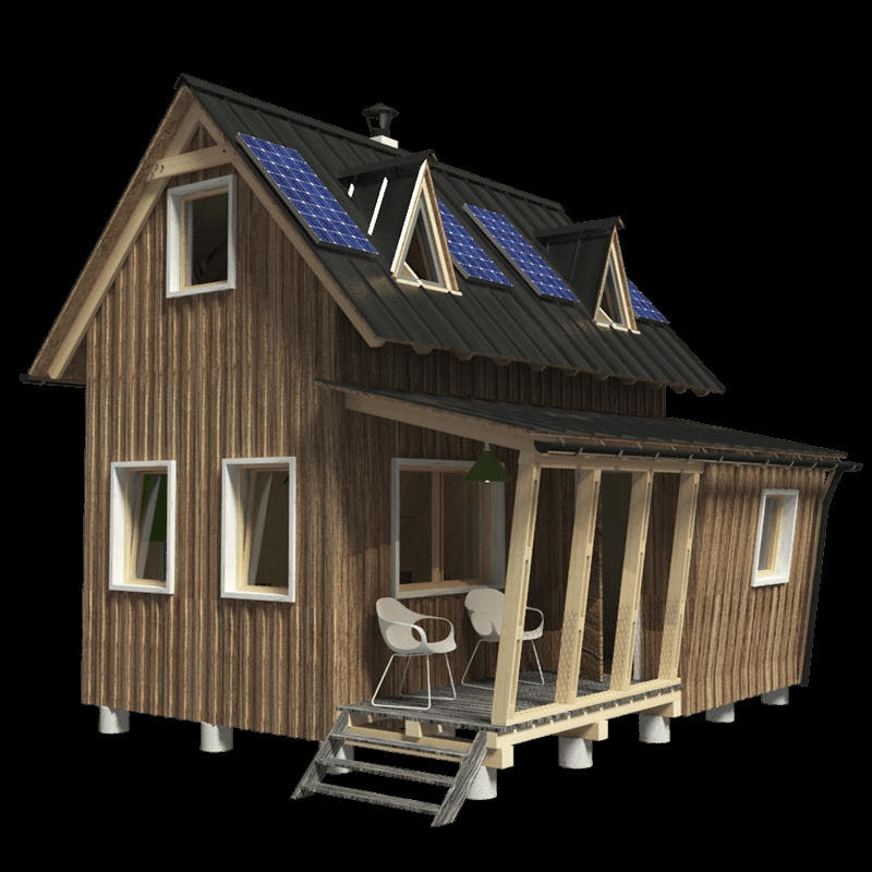 small two story house plans judy Small Two Story Cabin Plans