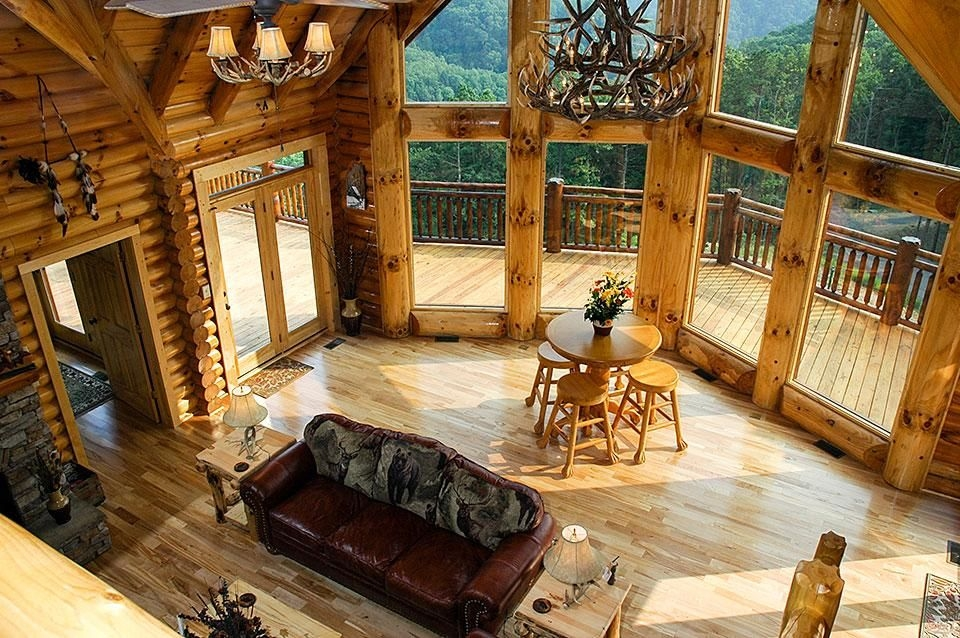 smoky mountain cabin with a view smoky mountain lodging Cabins With A View