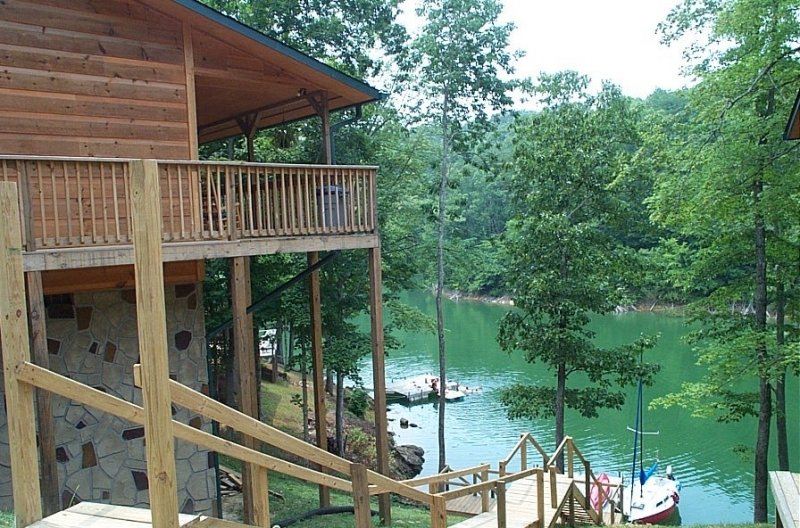 smoky mountain lake rentals trillium sevierville tn cabins Mountain Lake Cabins