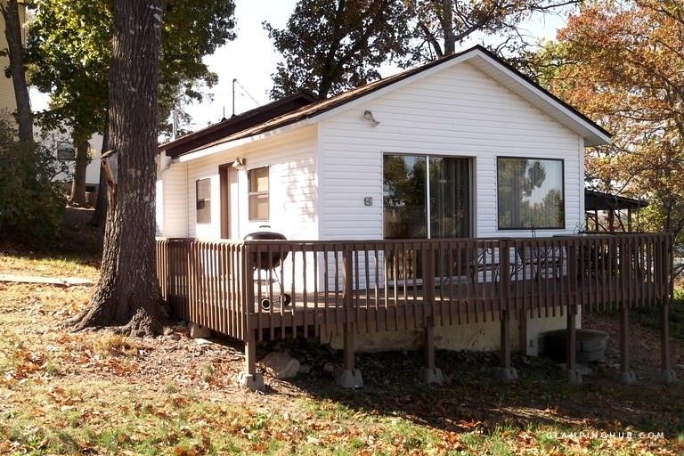 spacious one bedroom cabin with jacuzzi and lake views in bull shoals arkansas Bull Shoals Lake Cabins