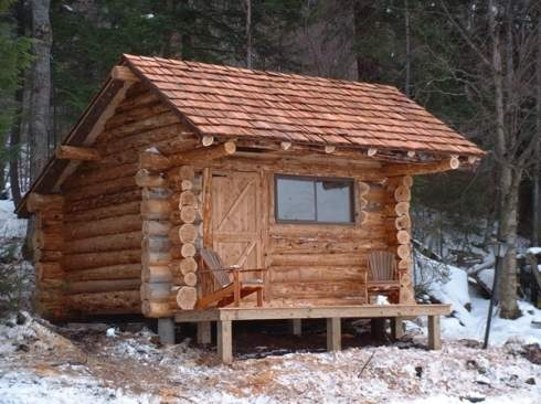 standout hunting cabins right on target Small Hunting Cabins