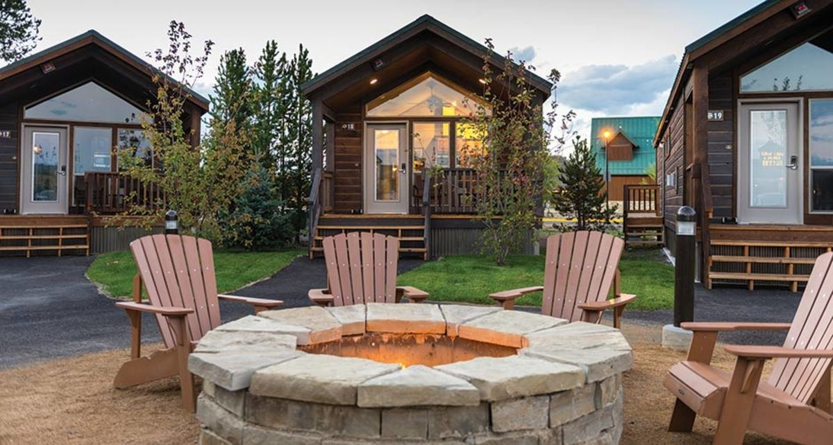 stay at the explorer cabins in west yellowstone my Explorer Cabins West Yellowstone