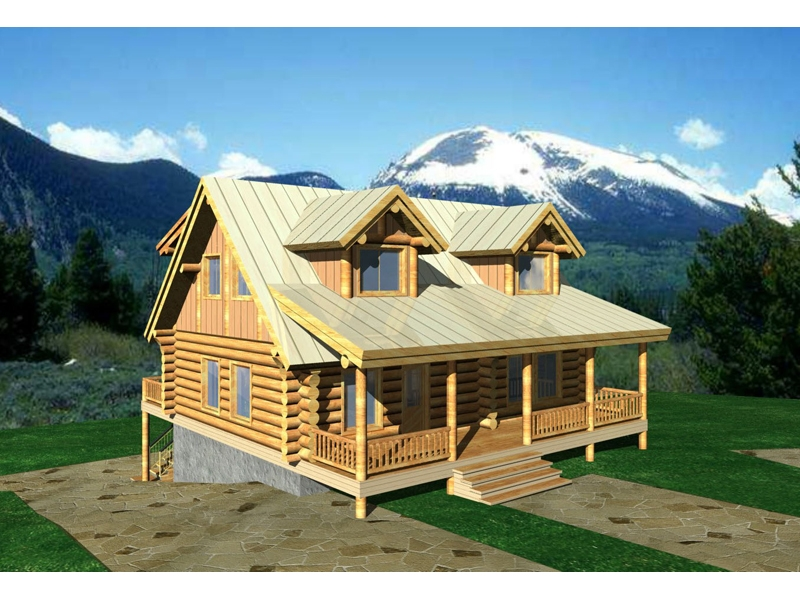 stors mill log cabin home plan 088d 0025 house plans and more Wood Cabin House Plan