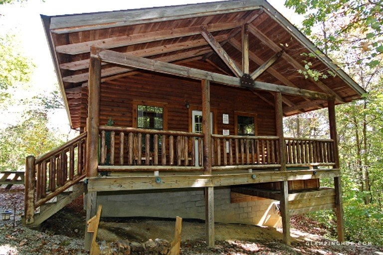 stunning cabin rental in ohio with outdoor hot tub Ohio Cabins With Hot Tubs