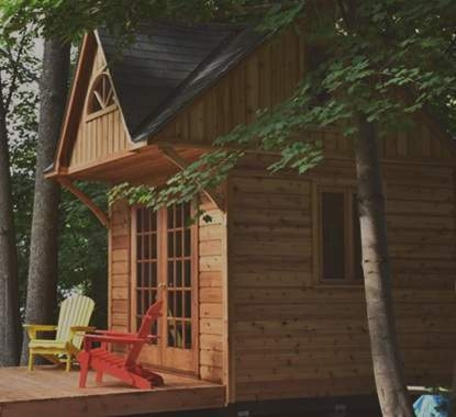 stylish log cabin and cottage kits for sale summerwood Prefab Small Cabins