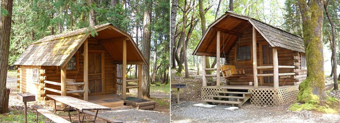 sunny valley rv park and campground Camping Sites With Cabins