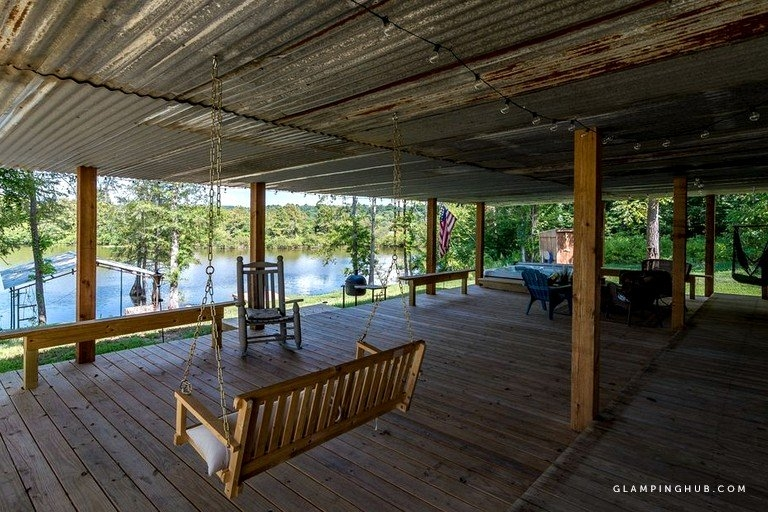superb cabin rental with private hot tub on toledo bend lake in louisiana Toledo Bend Lake Cabins