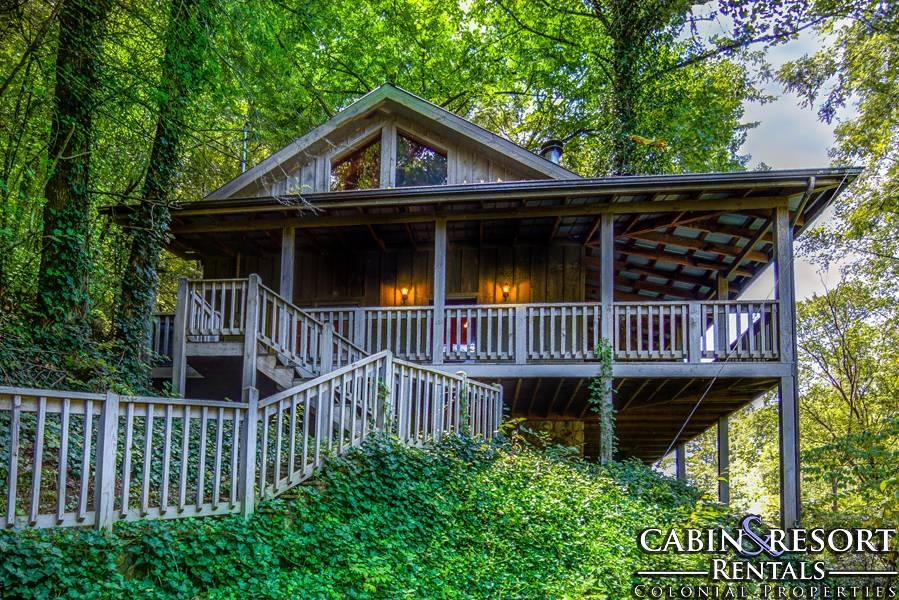 sweet and sassy Oak Mountain Cabins