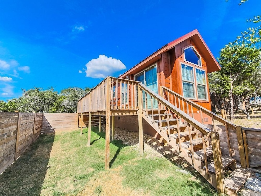 texas hill country cabin pool access pet friendly in austin Pet Friendly Cabins In Texas