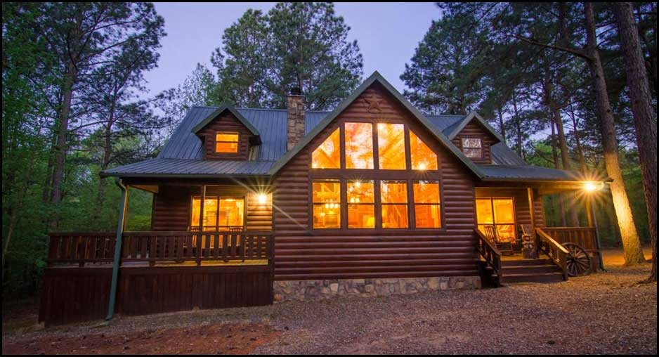 texas two step cabin rentals beavers bend lodging Pet Friendly Cabins In Texas