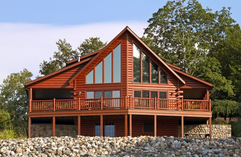 the architecture of the log cabin Log Cabin Homes
