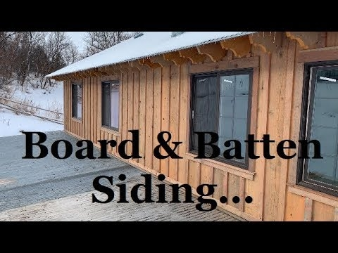 the best siding for your barncabin and workshop board and Board And Batten Cabin