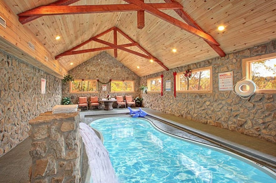 the best smoky mountain cabins with indoor pools for your Luxury Cabins Smoky Mountains